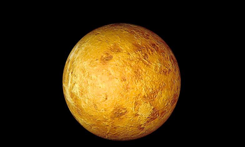 Planet Venus. Image shot 2003. Exact date unknown.